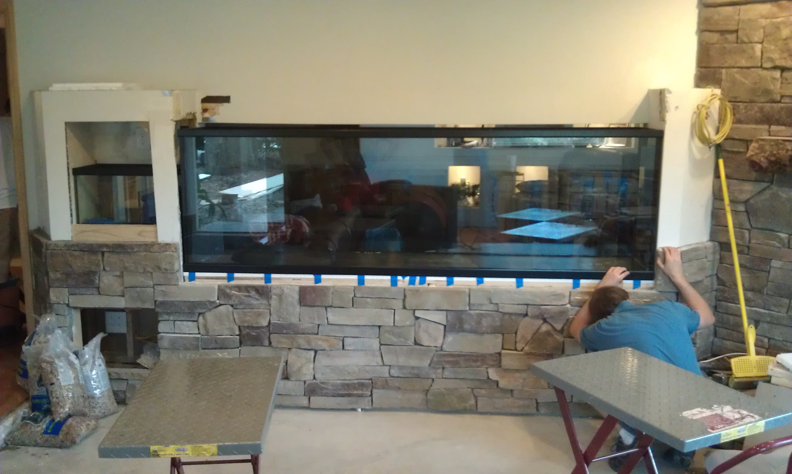 Man Cave With Tank : Aquariums and fish tanks installed in tampa florida